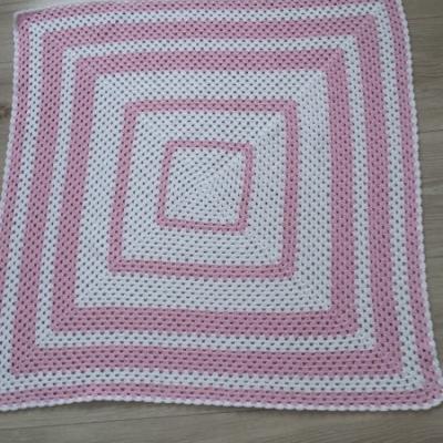 Detská háčkovaná deka