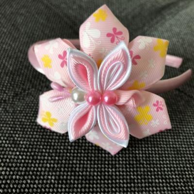 Čelenka Svetlo-ružový motýlik