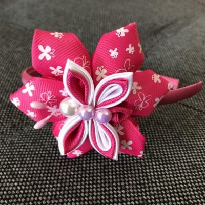 Čelenka Ružový motýlik