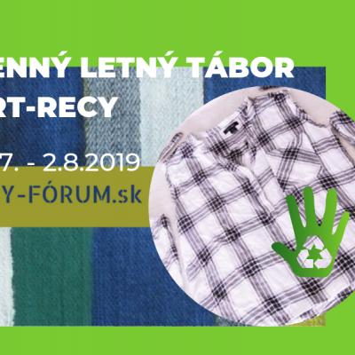 Denný letný tábor ART-RECY 29.7.-2.8.2019