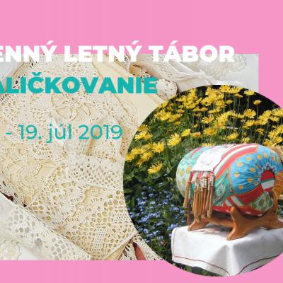 Denný letný tábor PALIČKOVANIE 15.-19.7.2019