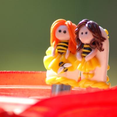 Lyžičky - pre pani učiteľky včeličky