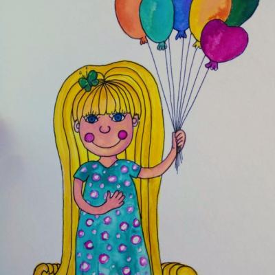 Osobná ilustrácia pre vaše dieťatko