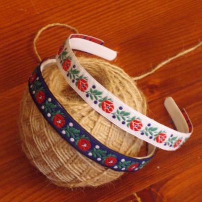 Folklórna čelenka 1,8cm - viac farieb
