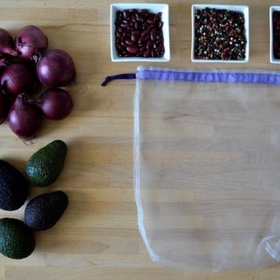 FIALOVÉ eko vrecúško na ovocie a zeleninu