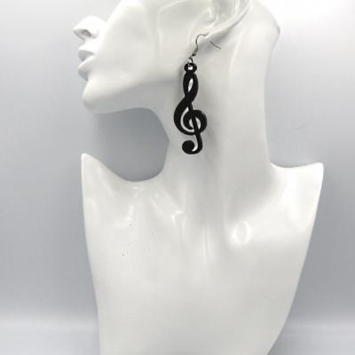Náušnice husľový kľúč