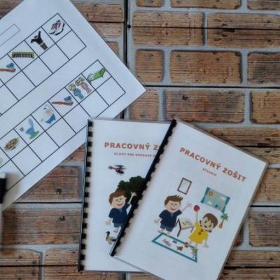 Denný plán a 2 ks pracovnych zošítkov Bývanie a Úlohy pre zvedavé detičky