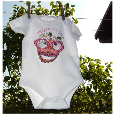 Detské bavlnené body - OčiPuči Baby Pimkie