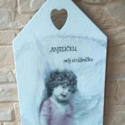 Obrázok - Anjelíčku môj strážničku
