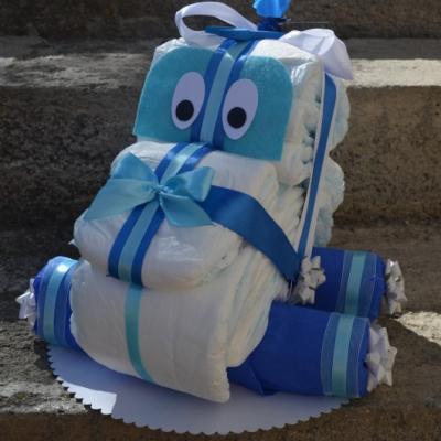 Plienková torta AUTÁ