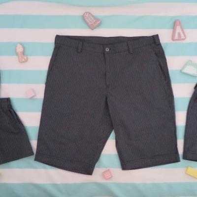 Pánske krátke nohavice - rodinný set
