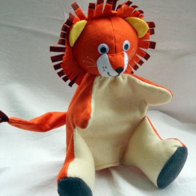 Maňuška. Zvieratko Levík Leon