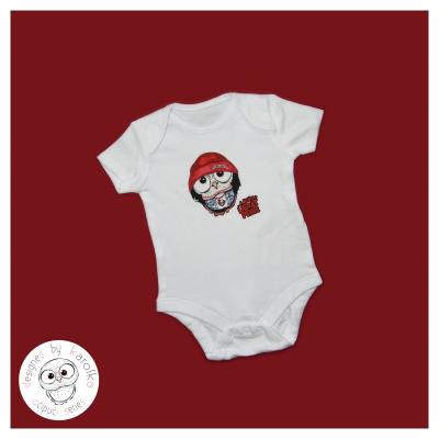 Detské bavlnené body - OčiPuči Metal Baby Coobo