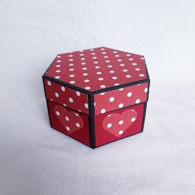 Hexagonál na fotky so SRDIEČKAMI