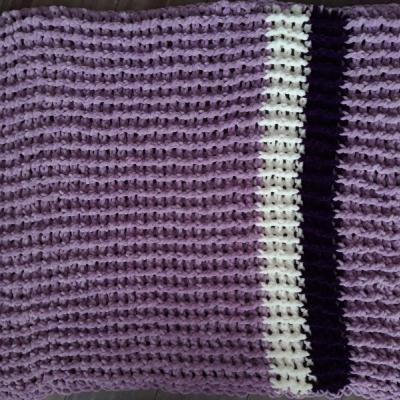 Fialová deka