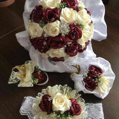 Svadobne kytice a sety