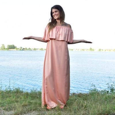 Neha - Volánové šaty