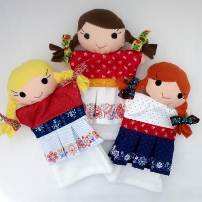 Maňuška folk dievčatko - na výber