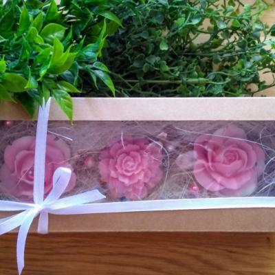 Box mydlových kvetov