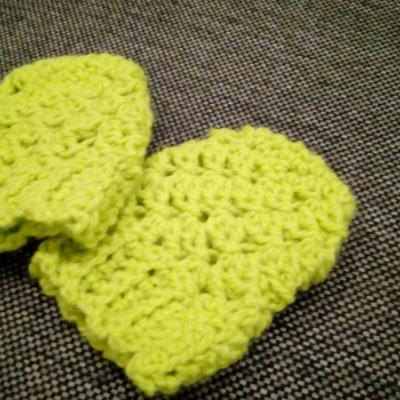 Rukavičky zelené