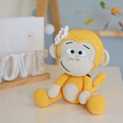 Háčkovaná opica