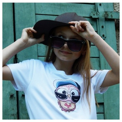 Detské COOL tričko - OčiPuči mámnaháku Čiko n.1