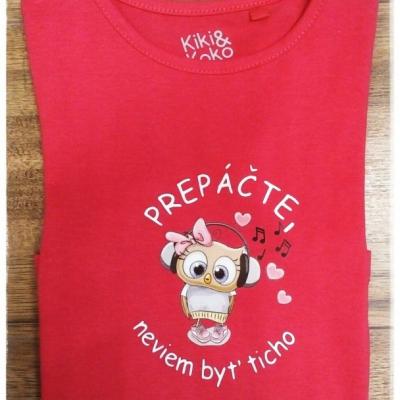 Tričko pre výrečné deti