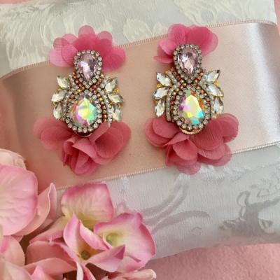 Náušnice - Pink ballerina