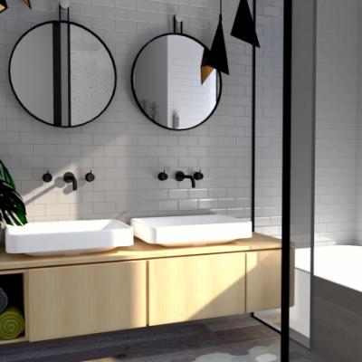 Návrh interiéru _ kúpeľňa