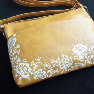 maľovaná kabelka