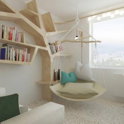 Interiérový dizajn _ spálňa