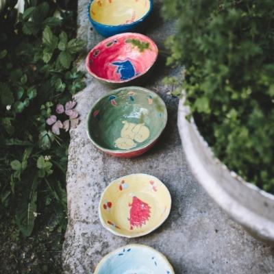 Keramické misky pre deti