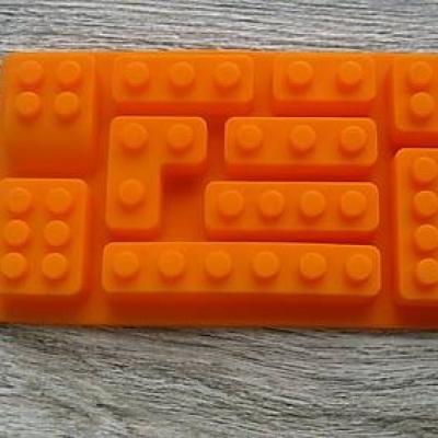 Silikónová forma LEGO kocky, 1 ks