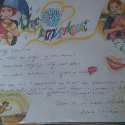 Umenie komunikácie a vzťahov :) ♥