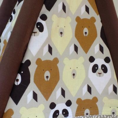 Teepee stan - Hnedý medveď
