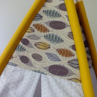 Teepee stan - Žltý list
