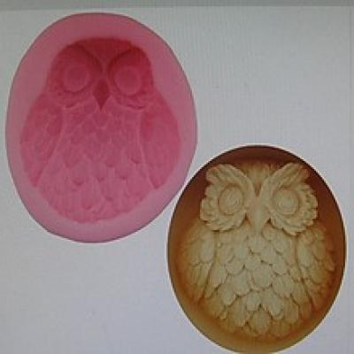 Silikónová forma sova, 1 ks