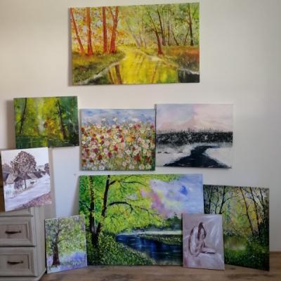 Maľované obrazy
