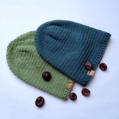 Pánske čiapky - 100% merino extra fine