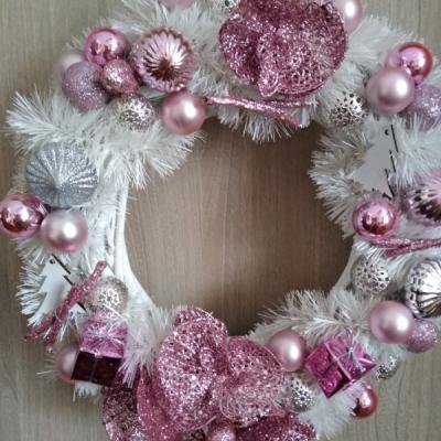 Vianočný venček na dvere