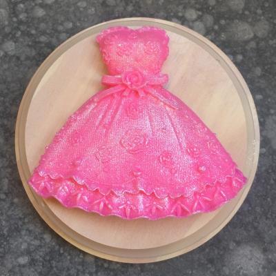 Mydielko šaty s perleťou
