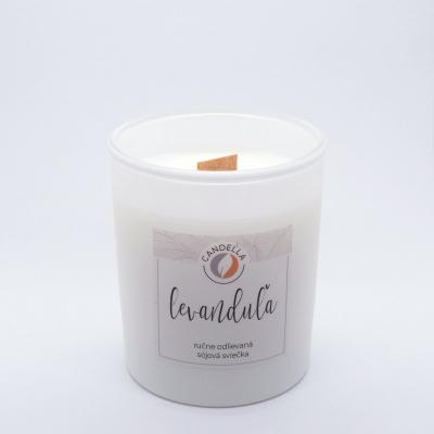 Levanduľa - sójová sviečka