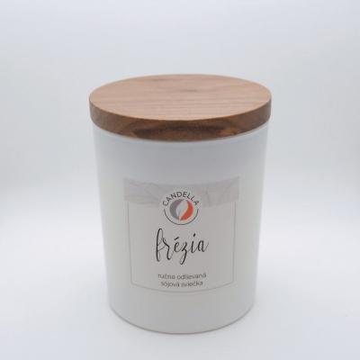 Frézia - sójová sviečka