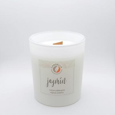 Jazmín - sójová sviečka