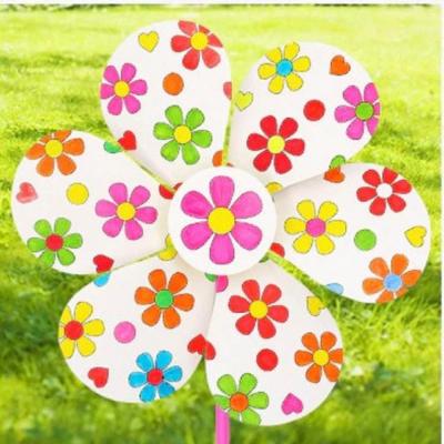 Kreatívna sada - vyrob si vrtuľku kvetinku, 1 sada (č.2.)