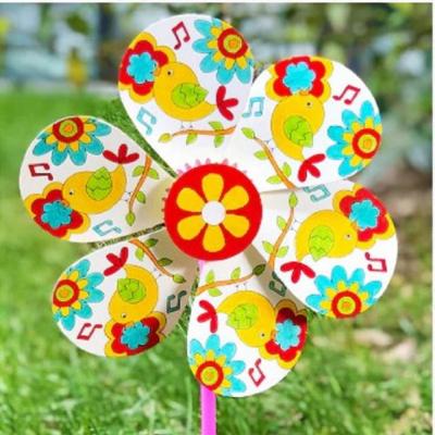 Kreatívna sada - vyrob si vrtuľku kvetinku, 1 sada (č.1.)