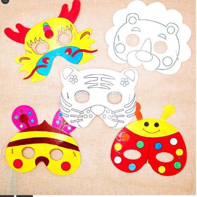 Kreatívna sada - vyrob si masku na tvár, 1 sada (TIGER)
