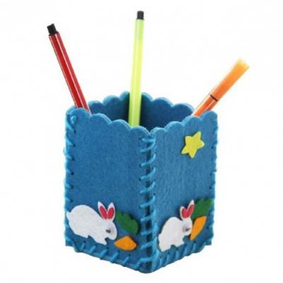 Kreatívna sada - uši si stojan na ceruzky, 1 sada (modrý)