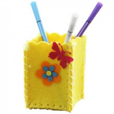 Kreatívna sada - uši si stojan na ceruzky, 1 sada (žltý)