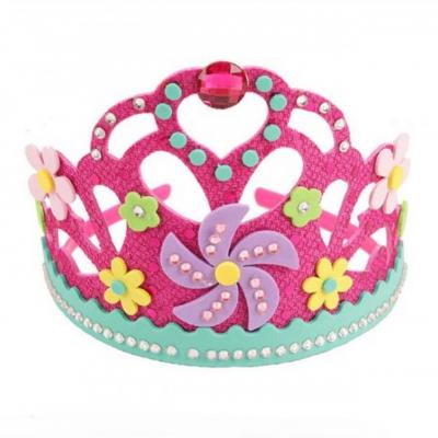 Kreatívna sada - vyrob si kráľovskú princeznovskú korunku, 1 sada
